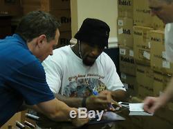 Ray Lewis # 52 Psa / Adn Signe 8x10 Photograph Authentique Autograph Pti Certified
