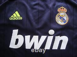 Real Madrid Karim Benzema Authentique Signé Shirt Maillot New Preuve Photo