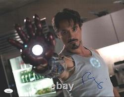 Robert Downey Jr Signé 11x14 Iron Man Tony Stark Authentic Autograph Jsa Coa