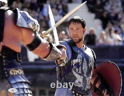 Russell Crowe Gladiator Authentique Signé 11x14 Photo Dédicacée Jsa # E46594