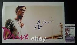 Ryan Gosling Authentic Hand-signed Drive 11x17 Photo (proof) (jsa Coa) A