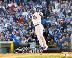 Sammy Sosa Authentic Autographed Signed 11x14 Photo Chicago Cubs Beckett 177685