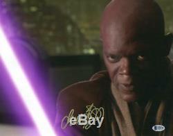 Samuel L Jackson Signé 11x14 Photo Star Wars Authentique Autograph Beckett Coa D