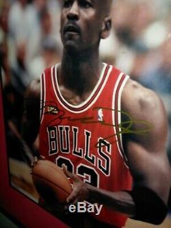 Signé Michael Jordan Auto Photo Autograph Or Sharpie Véritable Authentique Non Coa