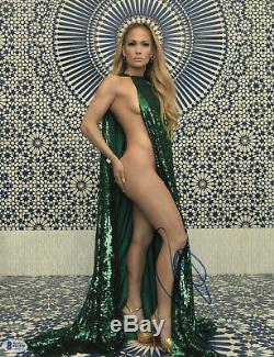 So Hot J Lo Jennifer Lopez Signé 11x14 Photo Authentique Autograph Beckett Bas 8
