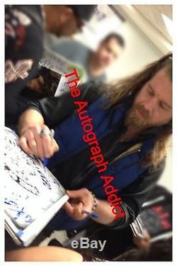 Sons Cast Anarchy (x14) Signé À La Main Authentique 11x17 Photo (charlie Hunnam) Preuve