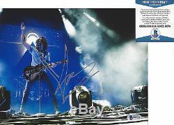 Soundgarden Chris Cornell Chanteur Signé Photo 8x10 Bas Beckett Assermentée
