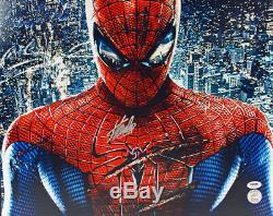 Stan Lee Authentique Signé Spider-man 16x20 Photo Dédicacée Psa / Adn 18