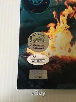 Stan Lee Mark Ruffalo Signé Autographié 16x20 Photo Jsa Celebrity Authentics 1