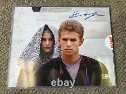 Star Wars Topps Authentics Hayden Christensen: Anakin Signed 8x10 Photo