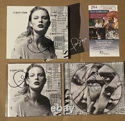 Taylor Swift 3x Signé À La Main Album De Réputation CD Autographe Coa Jsa Coa Authentic