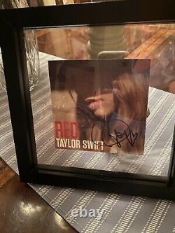 Taylor Swift Rouge Une Fois Signé Album Autograph Authentique