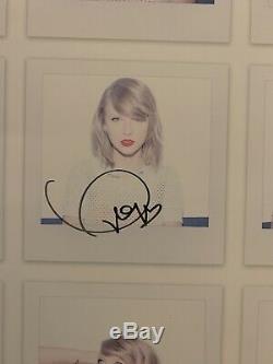 Taylor Swift Signé Autographes Authentique 1989 Lithographie Photos Folklore Amant