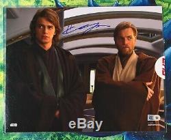 Topps Star Wars Authentics 8x10 Autograph Anakin Photo Hayden Christensen Auto