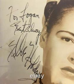 Vintage Billie Holiday Authentic / Certified Signed 8x10 Photo With Jsa Full Loa