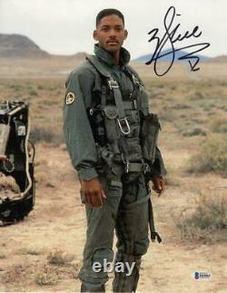 Will Smith Signé 11x14 Photo Independence Day Authentic Autograph Beckett Coa