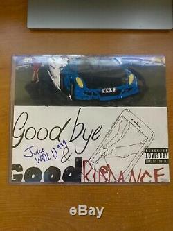 Wrld Juice Autosigné Goodbye Good Riddance Album Photo De Couverture 8x10 Authentique
